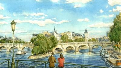 AI01 Pont Neuf – Ile de la Cité
