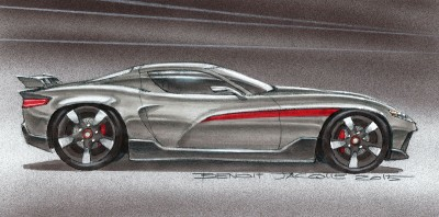 DA01 Supercar – Steel Gray