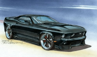 DA02 Mustang – Concept d'Inspiration 1969