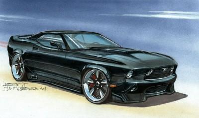 DA02 Mustang – Concept Inspiration 1969