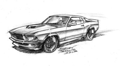 DA05 Mustang 69 Modifiée