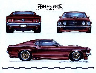 DA06 69 Mustang Modified