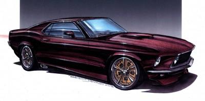 DA07 69 Mustang Modified
