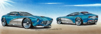 DA13 Supercar Turquoise