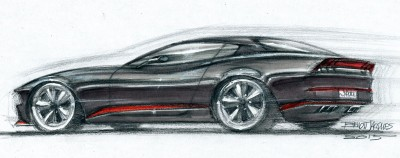 DA16 Sports Coupe – Sketch
