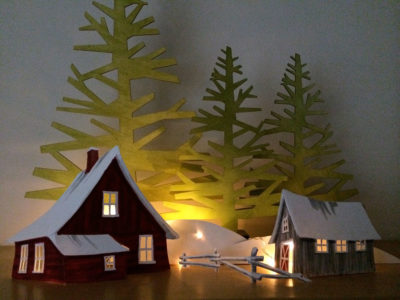 VP01 Paper Village – Farm
